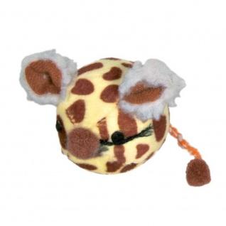 Trixie Mausball aus Plüsch - 4, 5 cm