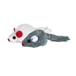 Trixie 6 Plüschmäuse mit Catnip - 5 cm