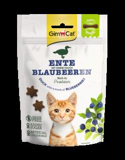 GimCat Soft Snacks Ente mit Blaubeeren 60 g