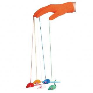 Karlie Flamingo Spielhandschuh mit Mäusen