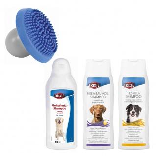 Trixie Shampoo-Sparset 1 inkl. Massagebürste