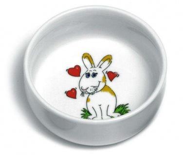 Karlie Runder Keramik-Napf für Kaninchen - 300 ml