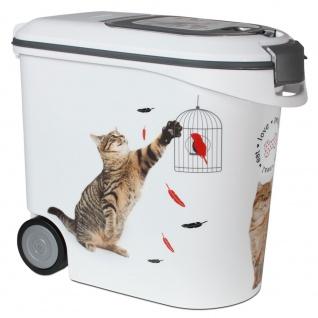 Curver Futtercontainer mit Rollen Katze - 35 l