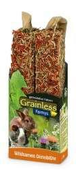 JR Farm Grainless Farmys Wildsamen-Distelblüten 2er