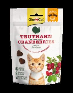 GimCat Crunchy Snacks Truthahn mit Cranberries 50 g