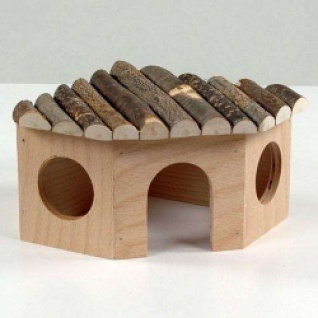 Nagerhaus mit Haselnussdach
