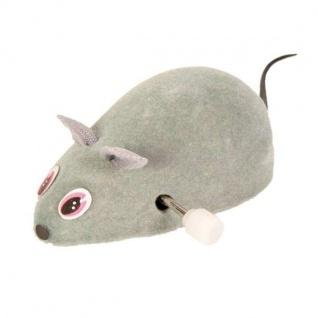 Trixie Filz-Maus zum Aufziehen - 7 cm