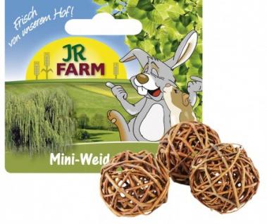 JR Farm Mini-Weiden-Spielbälle 4cm, 3 Stk.