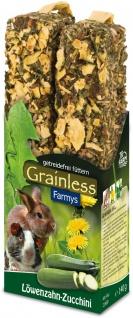 JR Farm Grainless Farmys Löwenzahn-Zucchini 2er