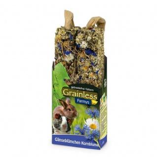 JR Farm Grainless Farmys Kornblume-Gänseblümchen 2er