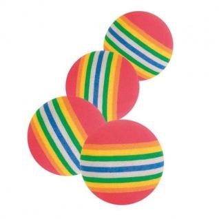 Trixie 4 Rainbow-Bälle - 3, 5 cm
