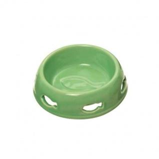 Karlie Katzennapf mit Fischlöchern - 150ml, grün