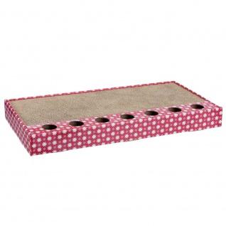 Trixie Kratzpappe pink - 48 × 25 cm