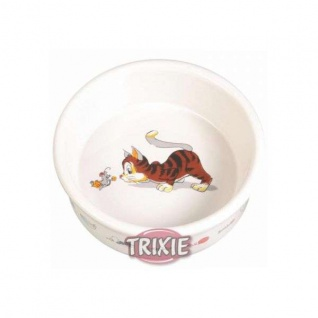 Trixie Keramiknapf mit Motiv - 200 ml