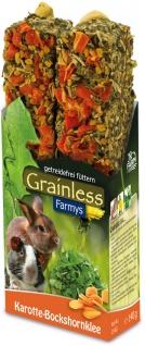 JR Farm Grainless Farmys Karotte-Bockshorn 2er