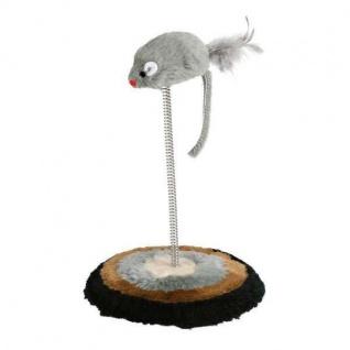 Trixie Maus auf Feder - ca. 14, 5 x 22 cm