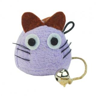 CRAZY CAT Funny Mouse Lila mit 100% Catnip
