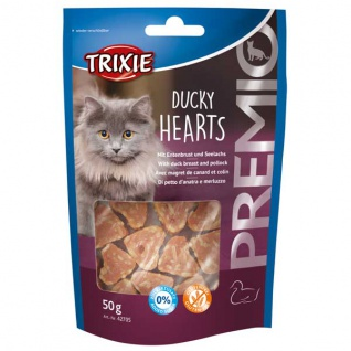 Trixie Premio Ducky Hearts 50g