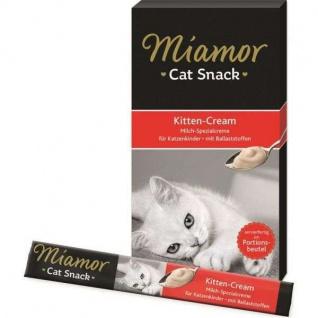 Miamor Cat Confect Kitten-Milch-Cream 5x15g