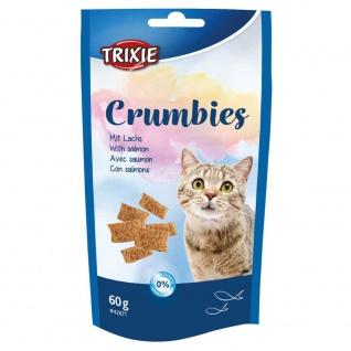Trixie Crumbies mit Lachs - 60 g