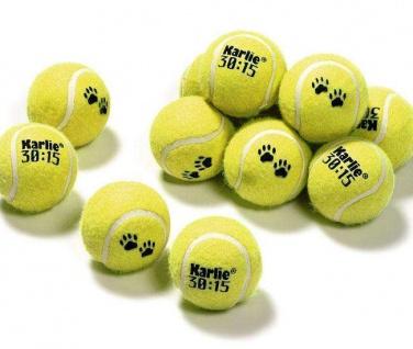 Karlie Tennisball - 12er Set, 6 cm