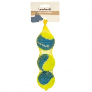Beeztees Fetch Tennis Bälle 3er Set
