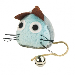 CRAZY CAT Funny Mouse Blau mit 100% Catnip