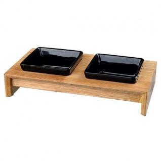 Trixie Napf-Set Keramik/Holz