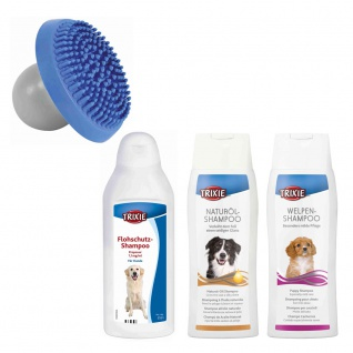 Trixie Shampoo-Sparset 2 inkl. Massagebürste