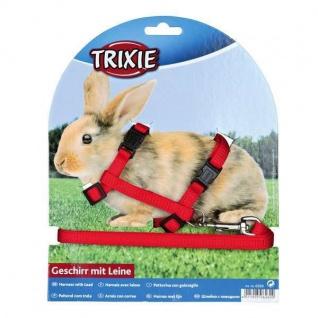 Trixie Kaninchen-Garnitur mit Leine + Schnappverschlüssen