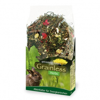 JR Farm Grainless Herbs Zwergkaninchen 400 g