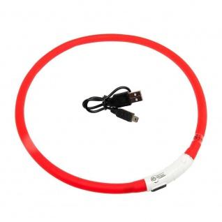 Karlie Visio Light LED-Leuchtschlauch mit USB - Rot