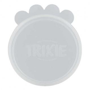 Trixie Dosendeckel aus Silikon - transparent