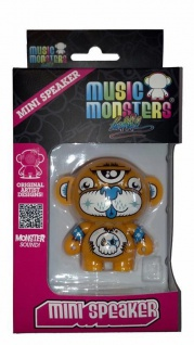 Music Monsters Dont Care Bear 1