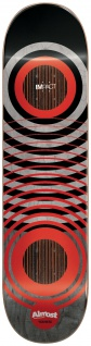 Almost Youness Amrani Red Ring Impact Light Deck - 8.25