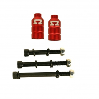 AO Scooter Double Peg Kit incl 3 Bolts - One Size