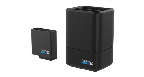 GoPro Dual Charger + Battery - One Size