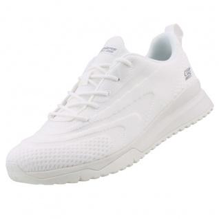 Skechers BOBS Damen Sneaker SQUAD 3 COLOR SWATCH Weiß