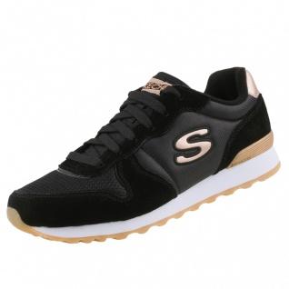 Skechers Damen Sneakers OG 85 Goldn Gurl Schwarz
