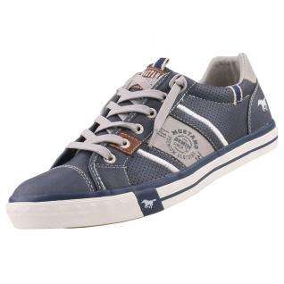 Mustang Herren Sneaker Blau