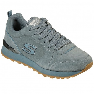 Skechers Damen Sneakers OG 85 SUEDE EAZE Hellblau
