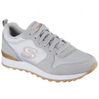 Skechers Damen Sneakers OG 85 Goldn Gurl Hellgrau