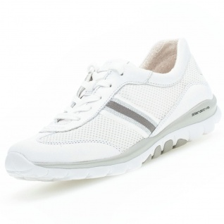 GABOR Rollingsoft Damen Sneaker Weiß