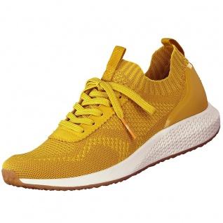 TAMARIS Fashletics Damen Sneaker Gelb