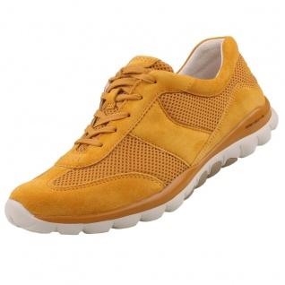 GABOR Rollingsoft Damen Sneaker Gelb