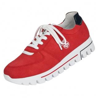 Rieker Damen Sneaker Rot