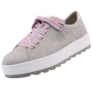Rieker Damen Sneaker Grau