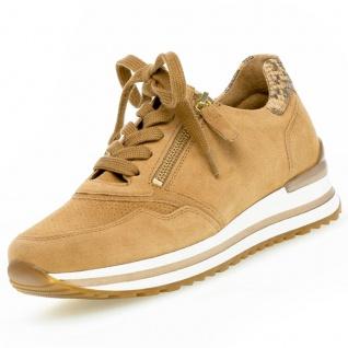 GABOR Comfort Damen Sneaker Braun