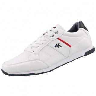 TOM TAILOR Herren Sneaker Weiß