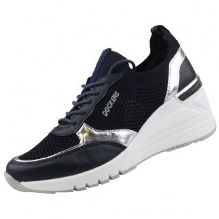 Dockers by Gerli Damen Keil-Sneaker Blau